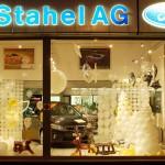 Schaufenster  Garage Stahel