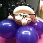 Deko im Brillengeschäft