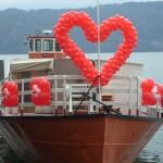 Hochzeits Schiffsdeko