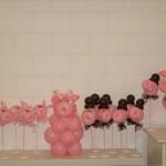 Schwein gehabt Tischdekoration