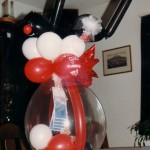Geld im Ballon