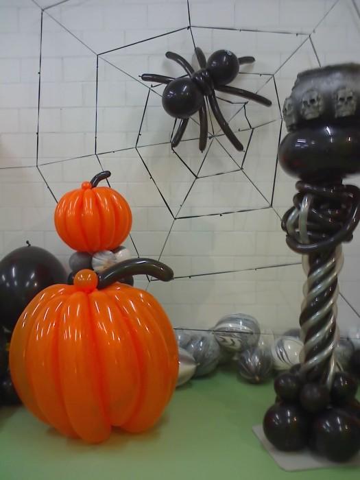 Halloween Ballonhaus