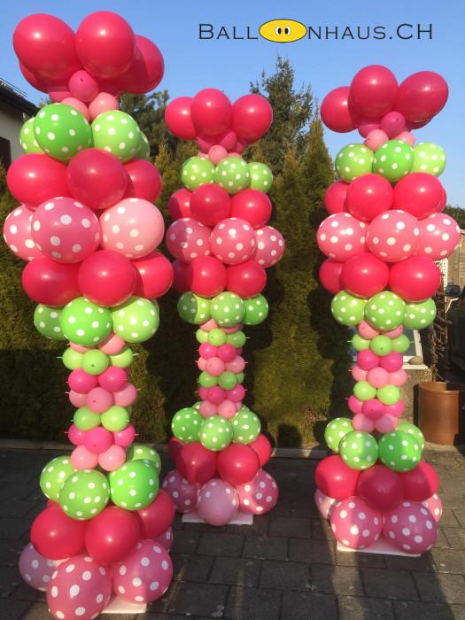 Ballonsäule Oster Blickfang