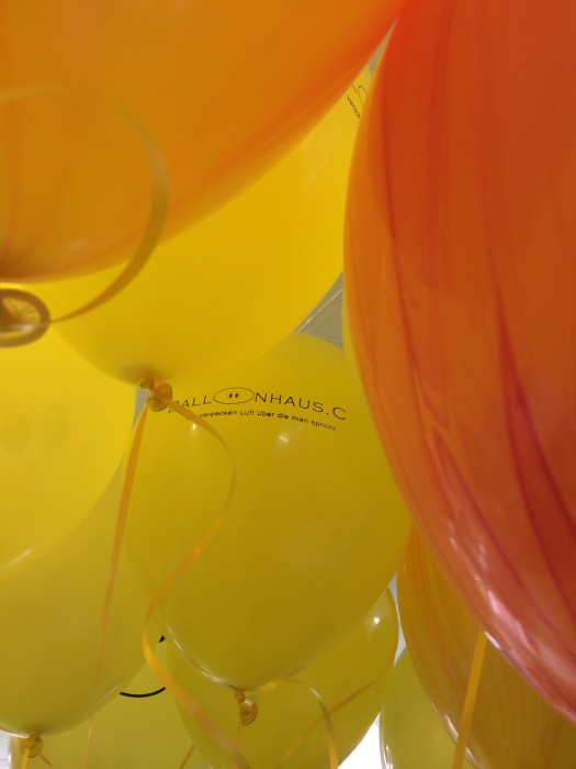 We love the Balloons..