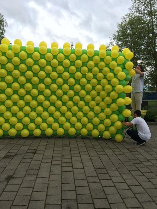 Ballonwand in allen Farben und Grössen erhältlich